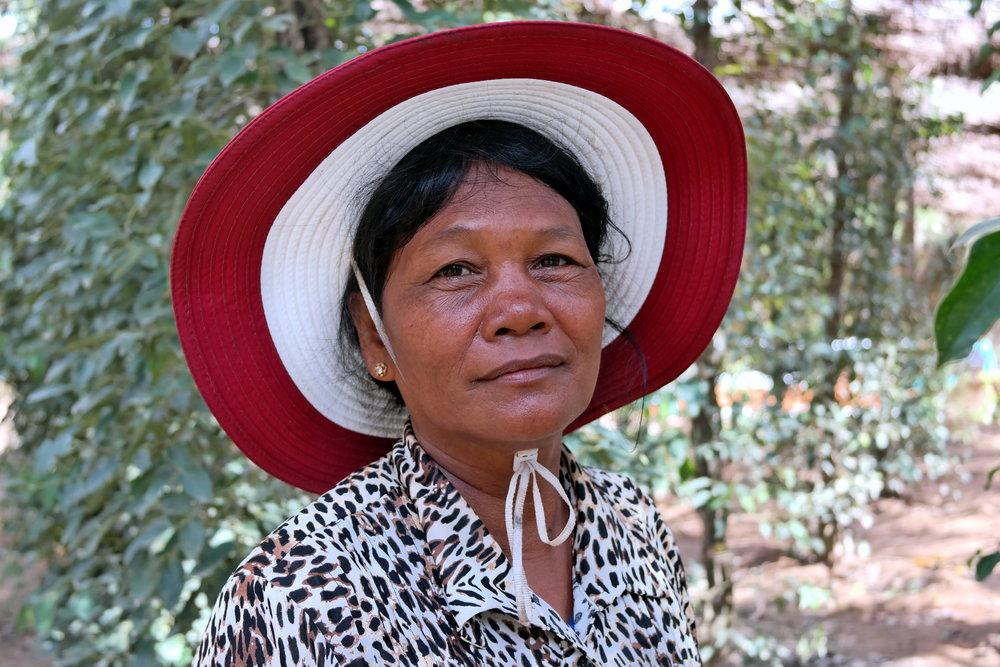 Sothy's Farm i södra Kambodja.