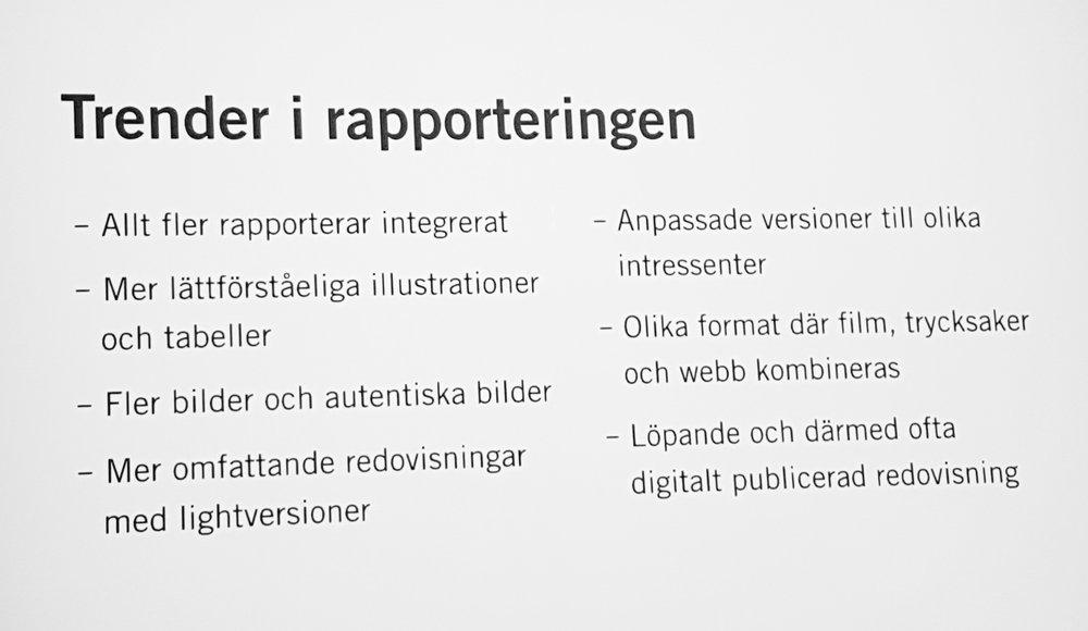 Fler tips med trendpoäng om hur du kommunicerar hållbarhet. Från Sveriges Kommunikatörers seminarium i Göteborg 1 sep 2017.