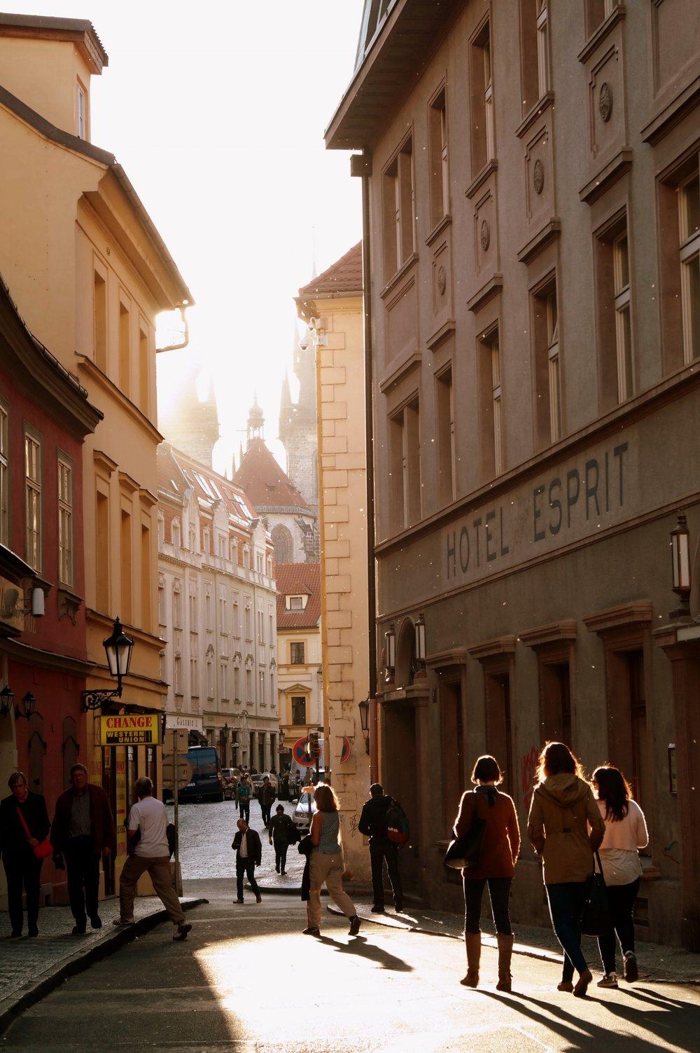 Prag - en stad jag gärna skulle åka tillbaka till efter podden Staden.