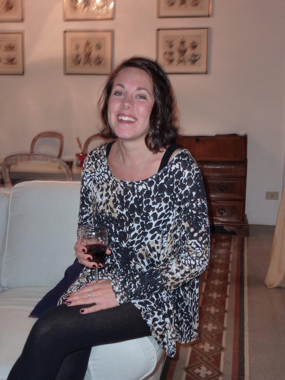"""Firar 20-årsdagen i Rom med matcha nagellacket med de """"vuxna"""" vinerna jag så gärna ville lära mig tycka om"""