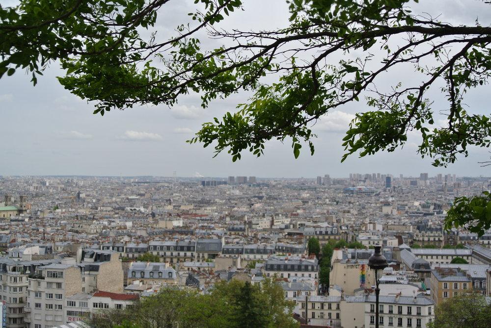 Från Madagaskars röda sand till Paris grå betong.