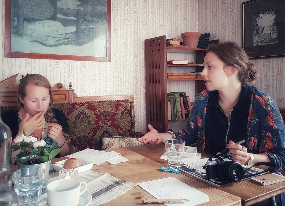 Bra fika bygger bra bloggar. Särskilt bra fika finns på  Jeremiabageriet  i Örebro.