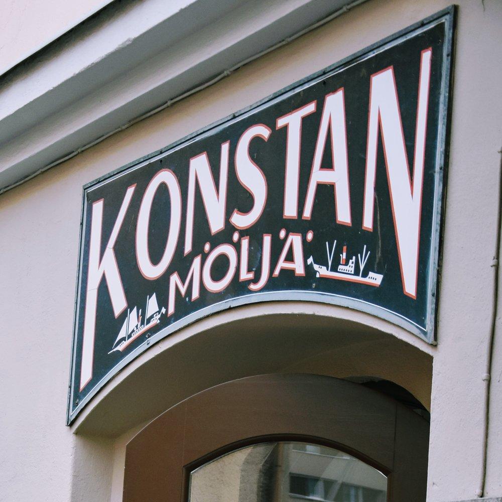Restaurangen ligger en bit utanför Helsingfors stadskärna.