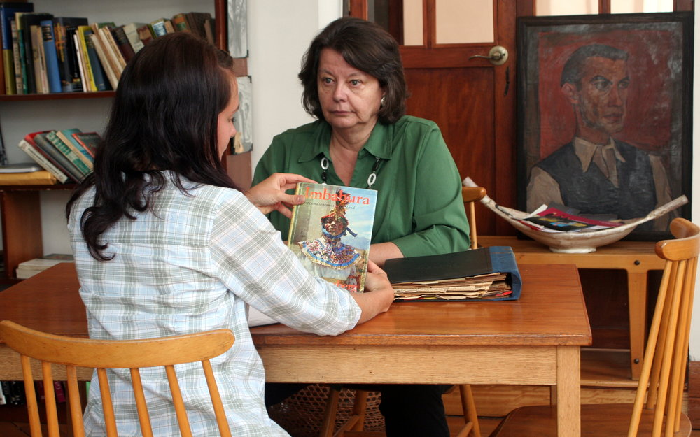 Intervju med den svenska upptäcktsresanden Rolf Blombergs dotter, Marcela.