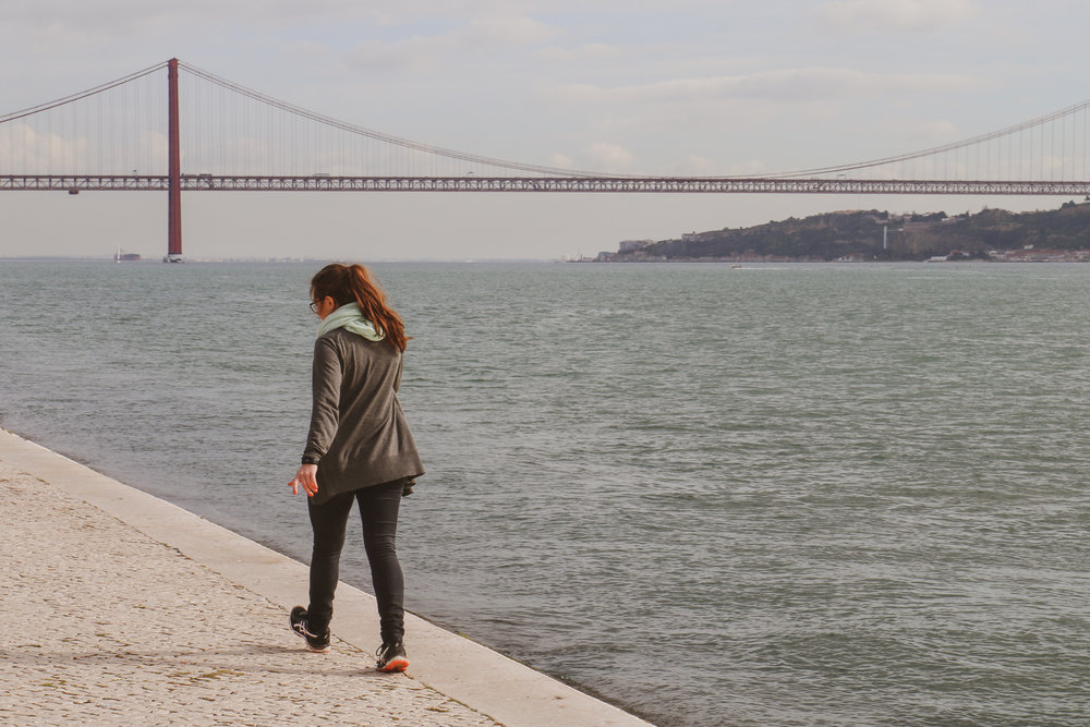 25 april-bron i Lissabon. Foto: Jessica Jeppson