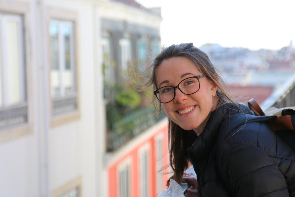 Bilden är tagen i Lissabon av  Jessica Jeppson .