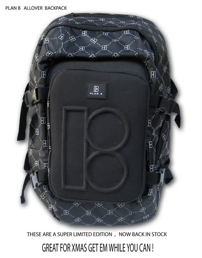 Plan B Allover Backpack