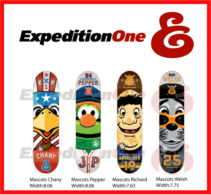 Expedition One Skateboards / Mascot Decks