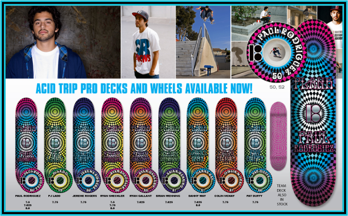 Plan B Skateboards, Acid Trip Decks & Wheels