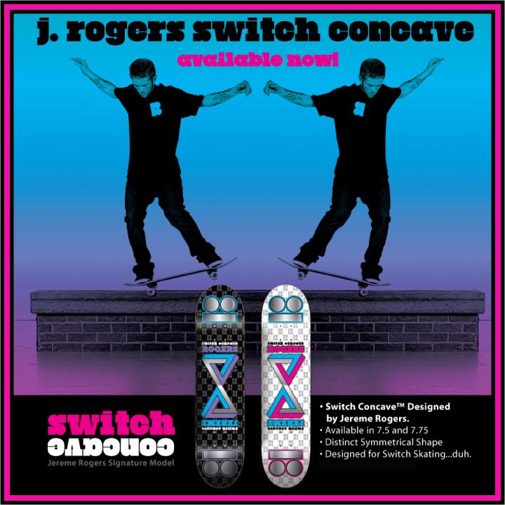 Plan B Skateboards, Jereme Rogers Switch Concave Decks