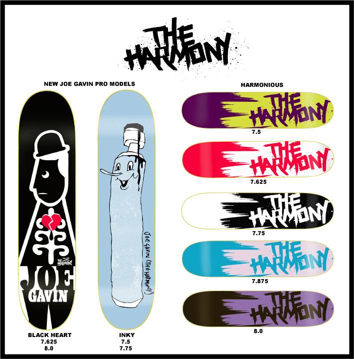 The Harmony, New Joe Gavin & Team Decks