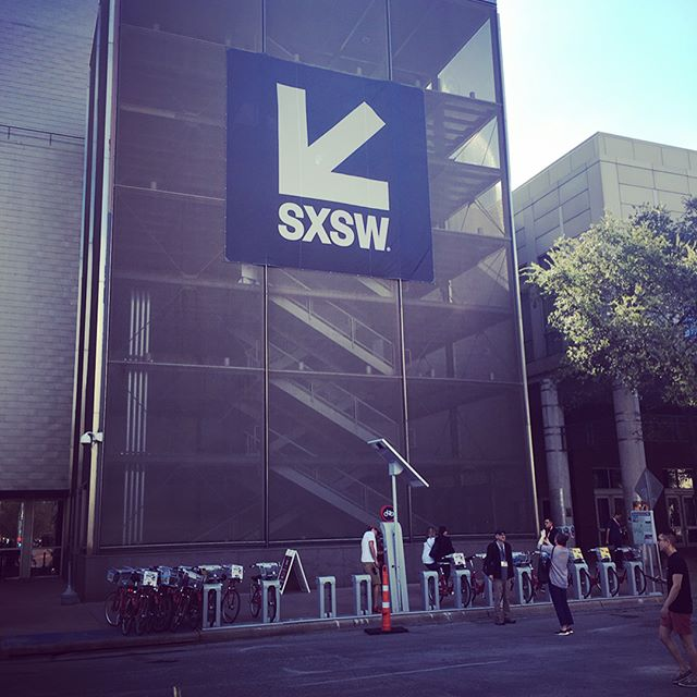 So let's do this! @sxsw
