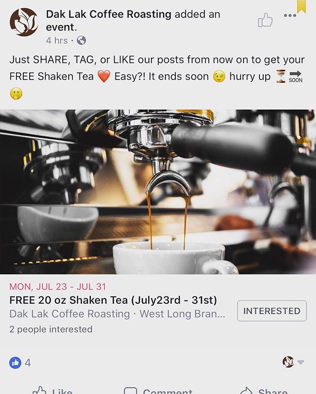 Happening NOW 👏🏻👏🏻👏🏻⏳www.daklakcoffeeroasting.com Fb.com/daklakcoffeeroasting #daklaknj 👈 follow us 😉