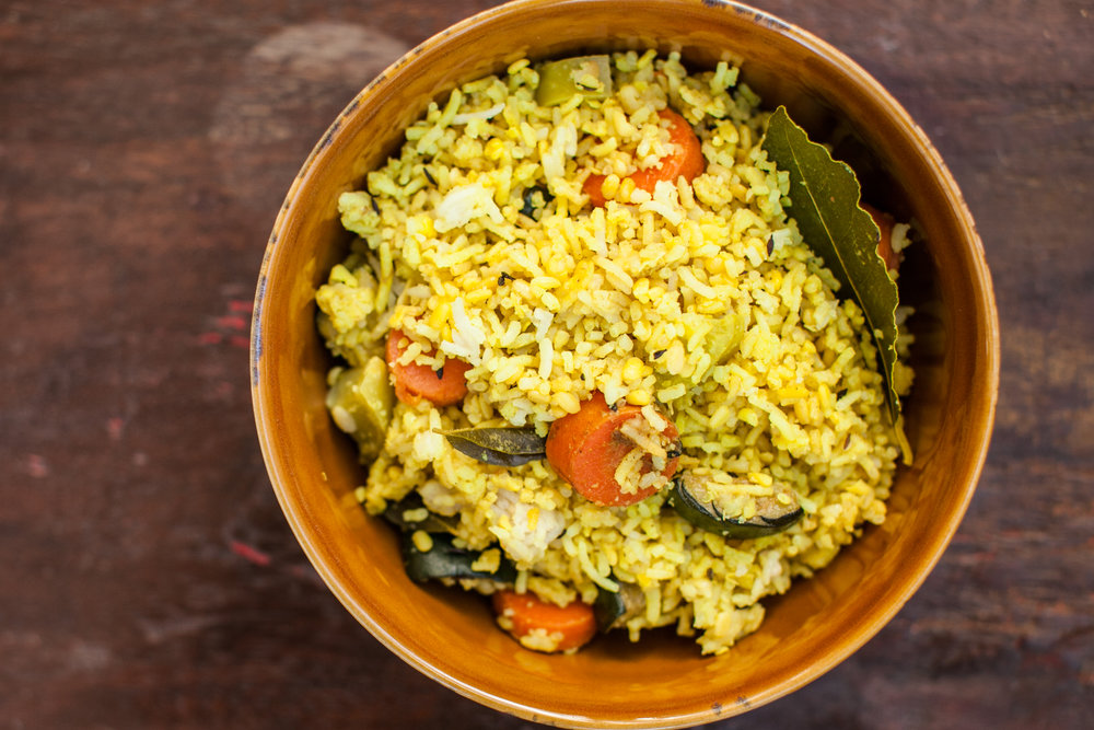 Daily Detox Diet - Kitchari is considered to be the perfect meal containing all 6 tastes! It's easy to digest, satisfying, & deeply nourishing while also aiding in cleansing the body. Our Kitchari is made fresh daily with much love! It helps reset the system while nourishing the body, mind, & soul.