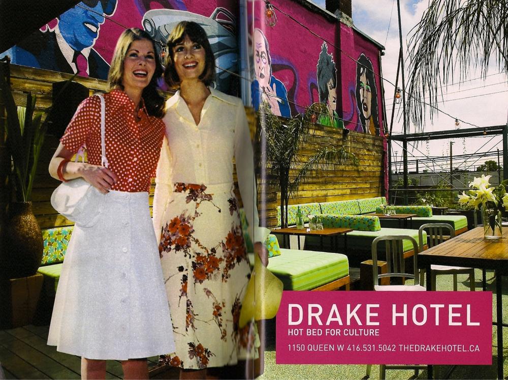 Drake Sky Yard Mural