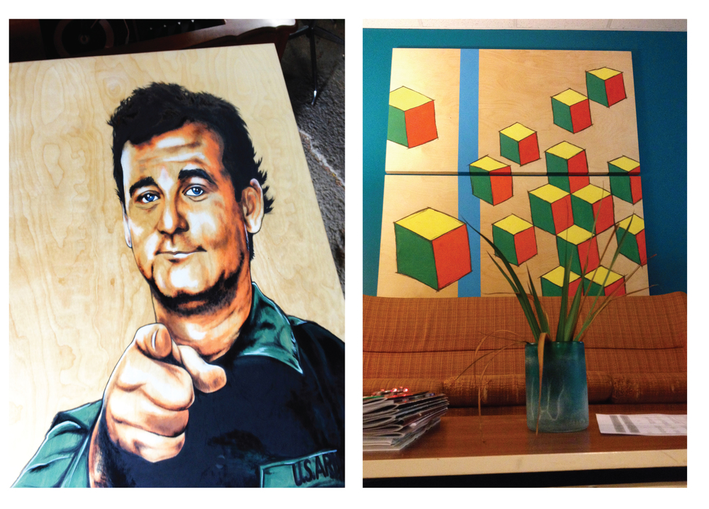 Live Nation board room Art