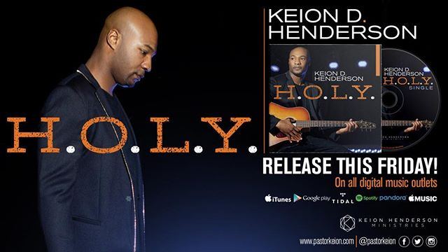 Make sure you pick up the new project by my brother @pastorkeion tomorrow! #holy #worship #mañana