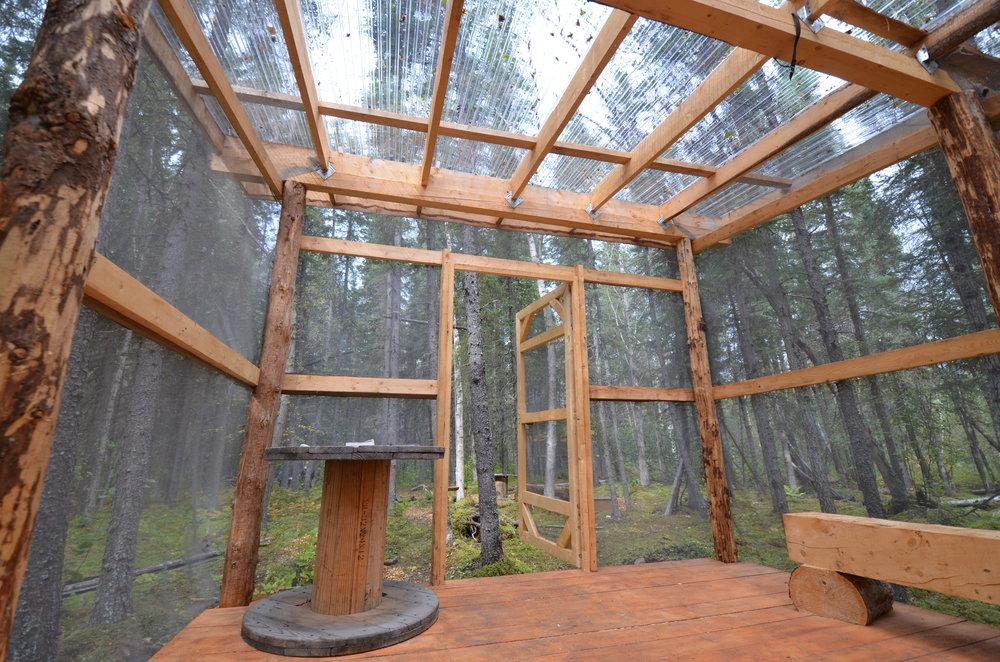 Campground Hut Port Alsworth Alaska