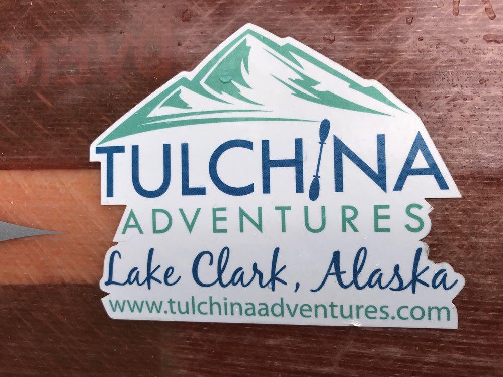 Lake Clark, Alaska Stickers - $3 eachWaterproof 2
