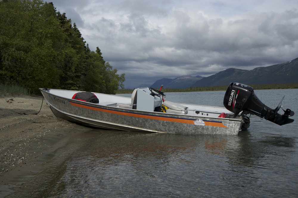 Motorized Skiff Rental- Alaskan Lund