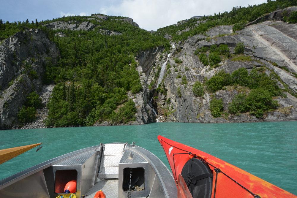 little lake clark water taxi