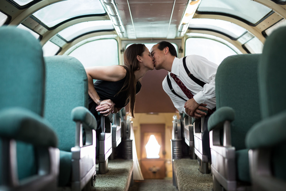 Gold Coast Railroad Museum Engagement | Steve Daubs Studios