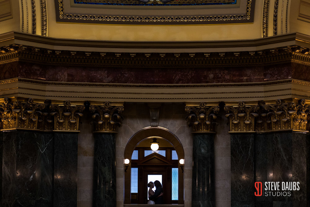 wisconsin capitol wedding