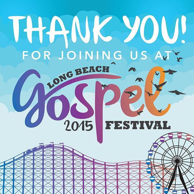 Thank you. Thank you. Thank you! Gospel Fest wouldn't have been possible without YOU! #lbgospel #antiochlb #summer2remember