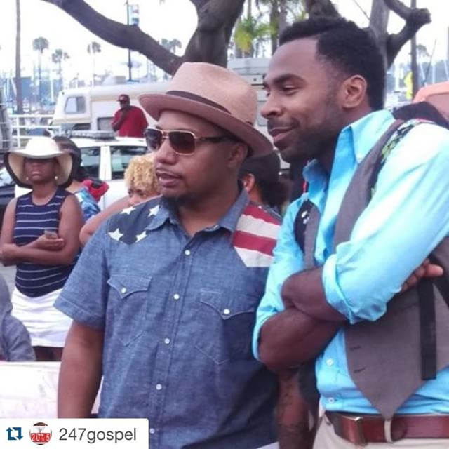 #Repost @247gospel with @repostapp. ・・・ regram @lbgospelfest #bts at the #lbgospelfest with @thatdudedeon and @nowthatsmajor! It was a great day for a praise party! Were you there? Be sure to #hashtag #lbgospelfest!  #antiochlb #antiochchurch #summer2remember #Sunday #gospelmusic #concert #summer #myeshachaney #waynechaney #DeonKipping #SundayFunday #oceanside #longbeach #losangeles #California #vip #redcarpet #interviews #photography #socialmedia #gospel