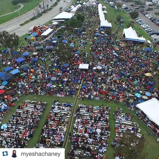 #Repost @myeshachaney with @repostapp. ・・・ Screen shots from the #Drone we used to get footage @lbgospelfest. Thanks @amgstudios for always coming through. #lbgospelfest #lbgospel