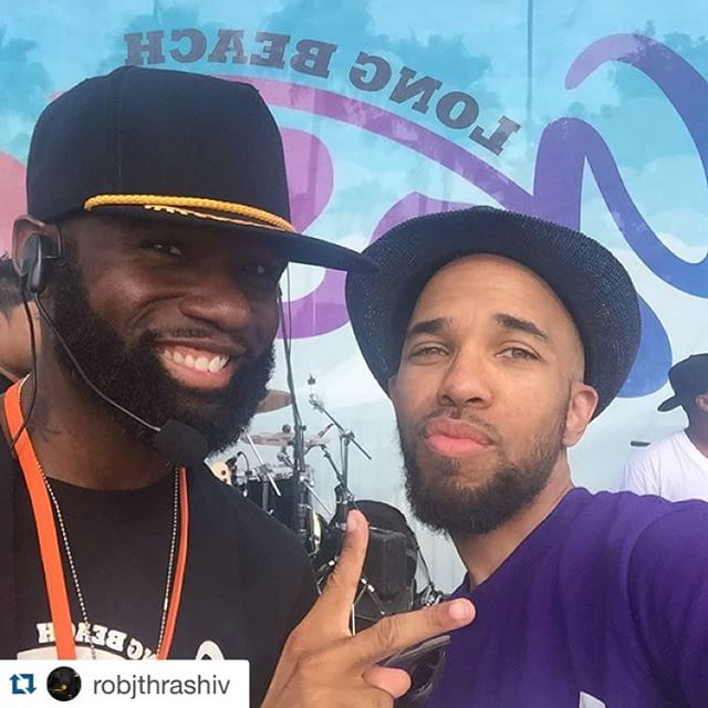 #Repost @robjthrashiv with @repostapp. ・・・ @sirbfresh and @robjthrashiv working hard to make this happen.  Missing @markelringer but he's doing his Executive Producer thing, so we'll catch up with him later.  #lbgospelfest