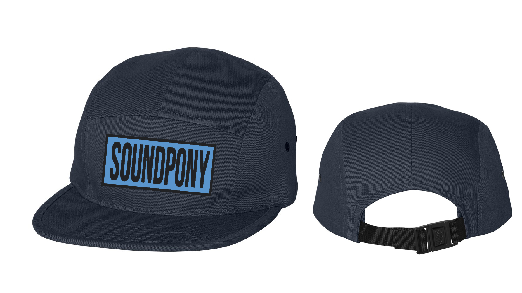 Patch Jockey Cap (7 color options) — Soundpony 83b9000ccc1