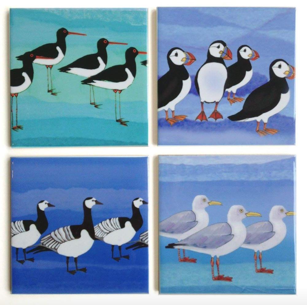 Birds by Joanne Wishart