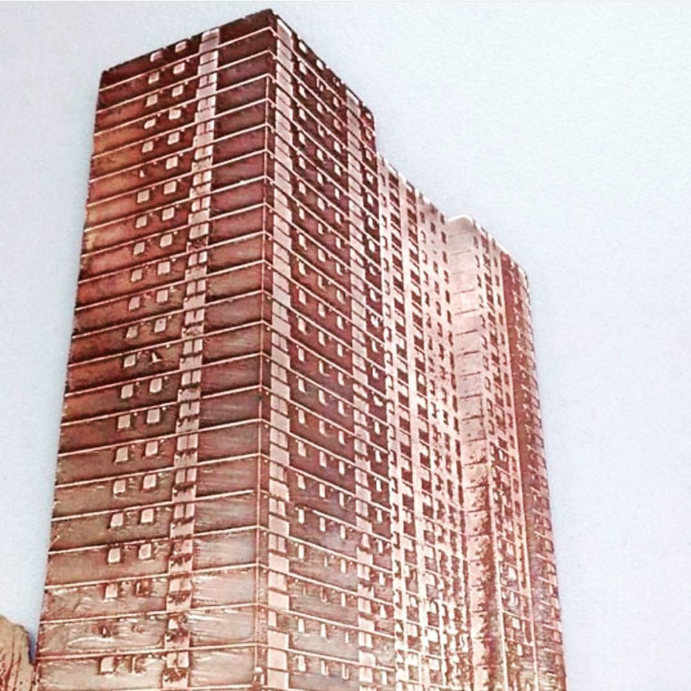 Tower Block by Bronwen Deane