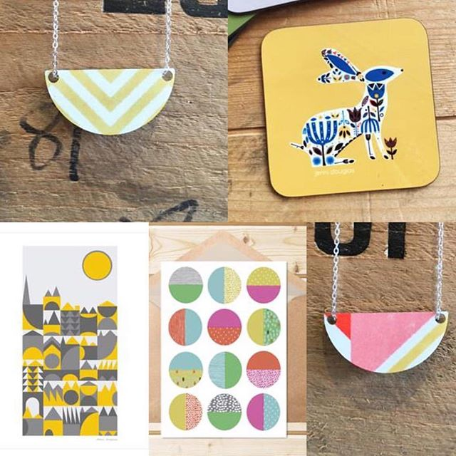 HAVE YOU MET -  @jennidouglasdesigns - Jenni Douglas?! We hope you'll follow and support her today! She is not only an artist/designer - she also has a very lovely shop. Do pop in to her gorgeous Edinburgh shop,say we sent you,  and buy JUST A CARD - or any one of the wonderful items there. Also take a pic of our shop window sticker - we're aiming to feature lots of shops who display our stickers. Let's help Jenni have a wonderful HAVE YOU MET day & make loads of new friends! REMEMBER support the campaign and it could be YOU we feature next week!! Every Tuesday @sarahhamiltonprints who set up The Just a Card campaign picks a designer, maker/shop/event & invites you to follow them, in this slot HAVE YOU MET?! The aim is to build our community & spread word that supporting creative people is valuable & vital. We want to share lots of peoples work - but this campaign is a two way street - support the campaign & you show support for all creative people. Please share/retweet JUST a CARD message loads. Don't forget to display our posters and remember to take part today - as this grows so will our amazing network of creative people. We hope you enjoy being featured today Jenni. Have a wonderful creative day friends. Please join in every Tuesday everyone - let's MAKE A DIFFERENCE TOGETHER!! 😊  #wemakecollective #makersformakers #wearethemakers #supportthemakers #capturemycraft #sharinghandmadejoy #prettycreativestyle #slowliving_create #buyfolk #prettycreativelife #seekinspirecreate #thenativecreative #handmadeisbest #modernmaker #bestmadehand