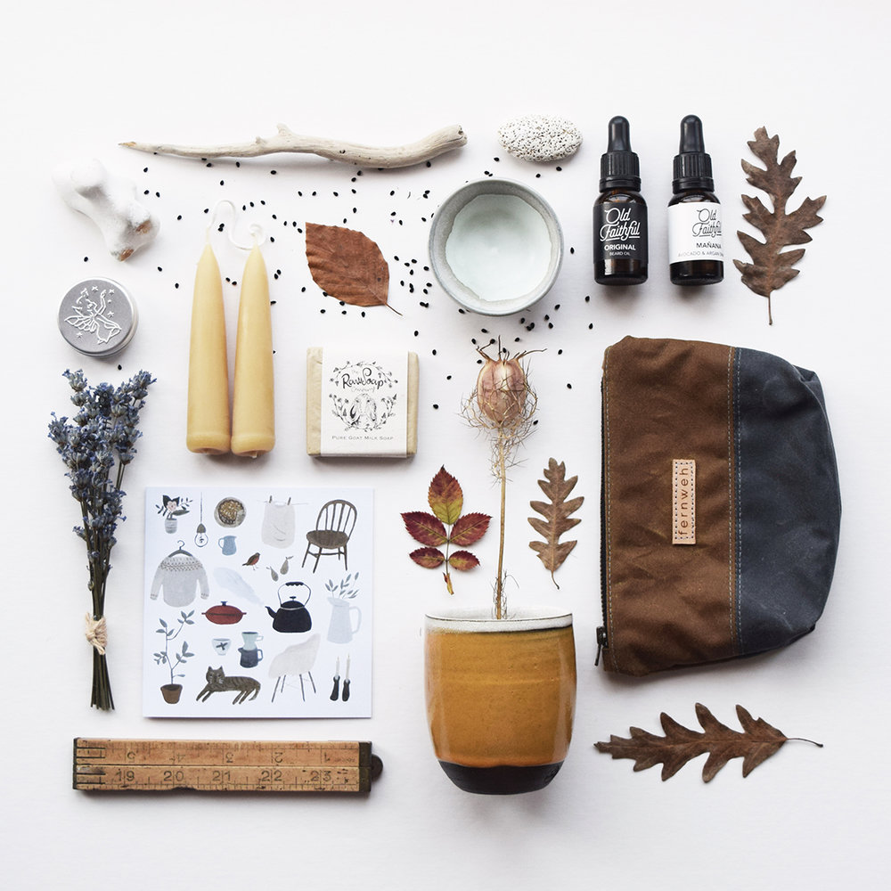 Autumn inspired flatlay of our handmade products.jpg