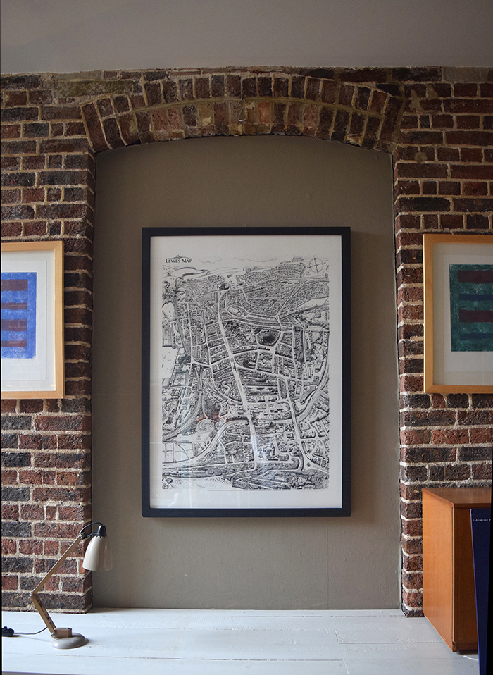 One of our Lewes Map limited prints.jpg