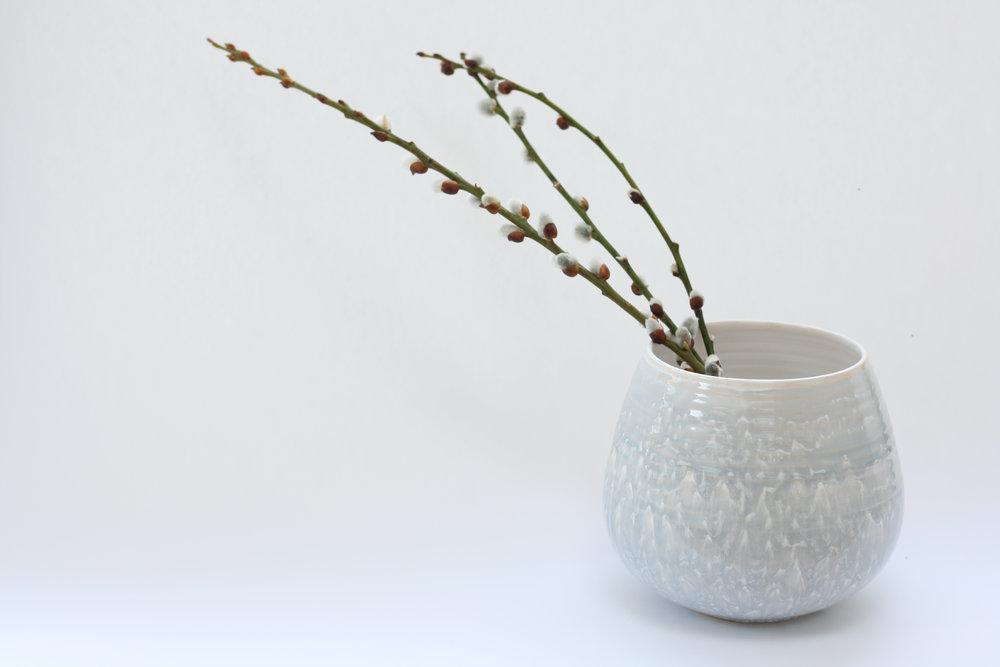 Justine Jenner Pottery_Speckled Vase.JPG