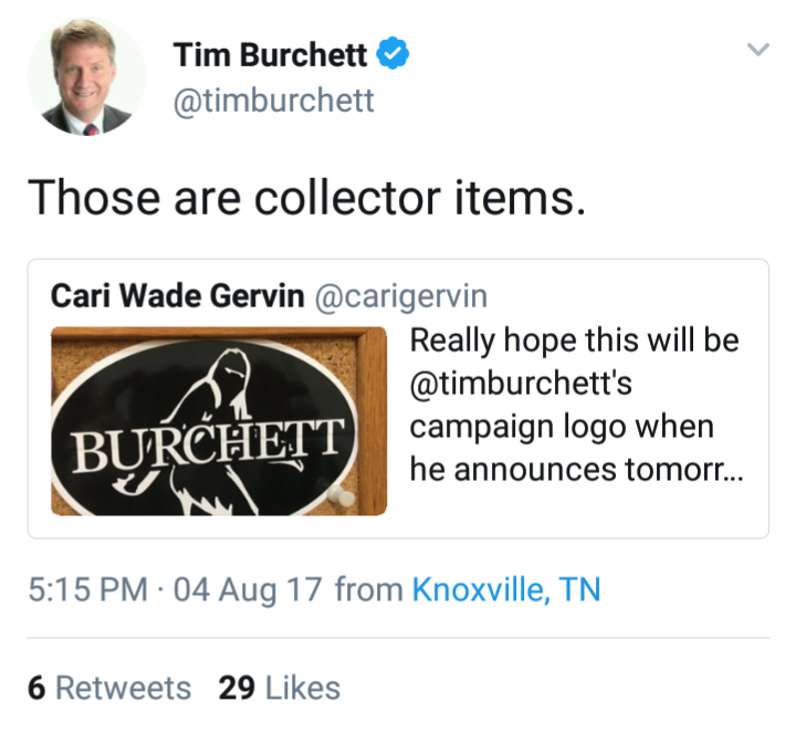Burchett quoting Gervin on Twitter