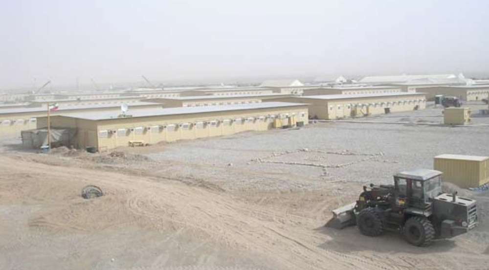 CAMP MARMAL (MILITARY BASE OF FEDERAL GERMAN ARMED FORCES), MAZAR-E-SHARIF, AFGHANISTAN COMPLETE DESIGN AND ENGINEERING OF WATER SUPPLY SYSTEM