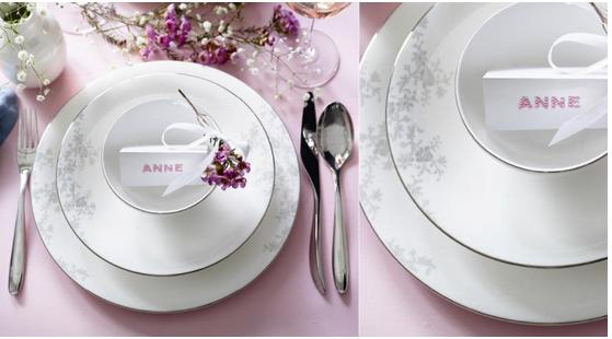 Design: Royal Porcelain. Moderne og romantisk festservise med mange muligheter. En av våre bestselgere. Egnet for oppvaskmaskin. Produsert i Bone...