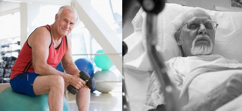sano vs malato