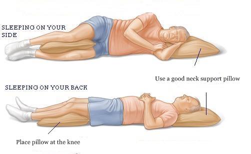 posizione nel sonno