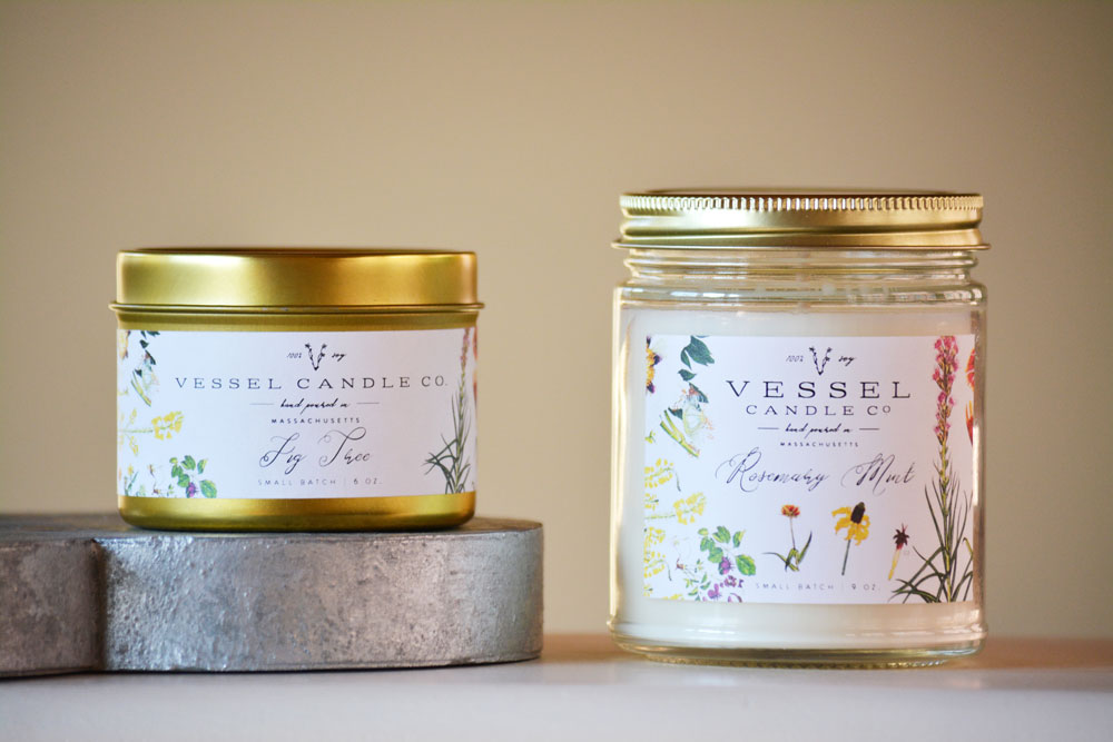 Vessel candle co august osceola for Create your own candle labels