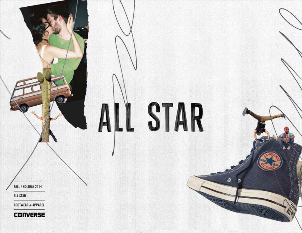 Converse FA14 All Star Lookbook / click image to view