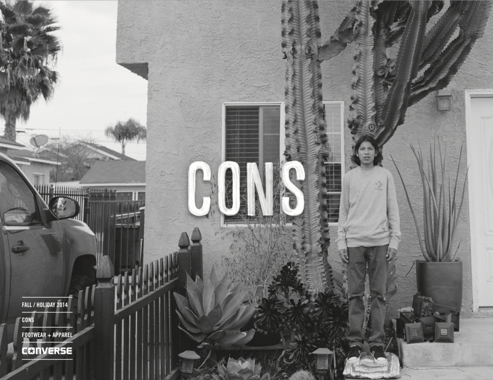 Converse FA14 CONS Lookbook / click image to view