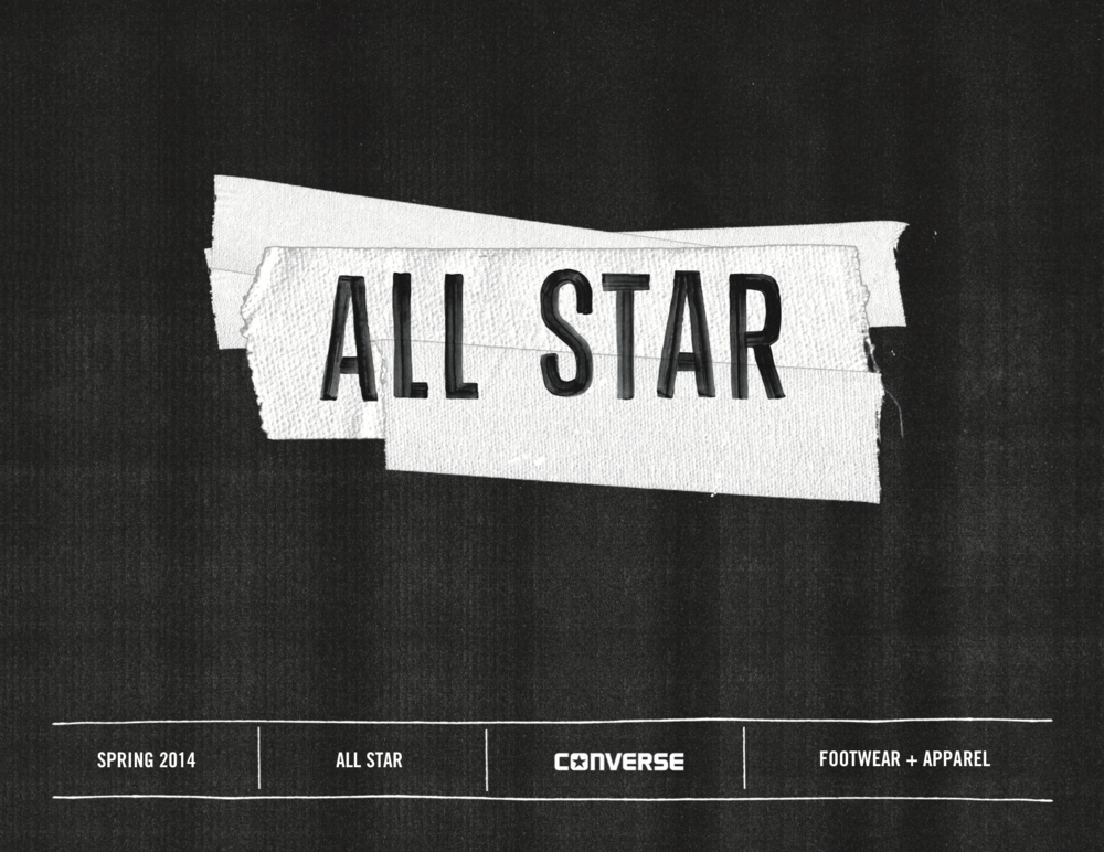 Converse SP14 All Star Lookbook / click image to view