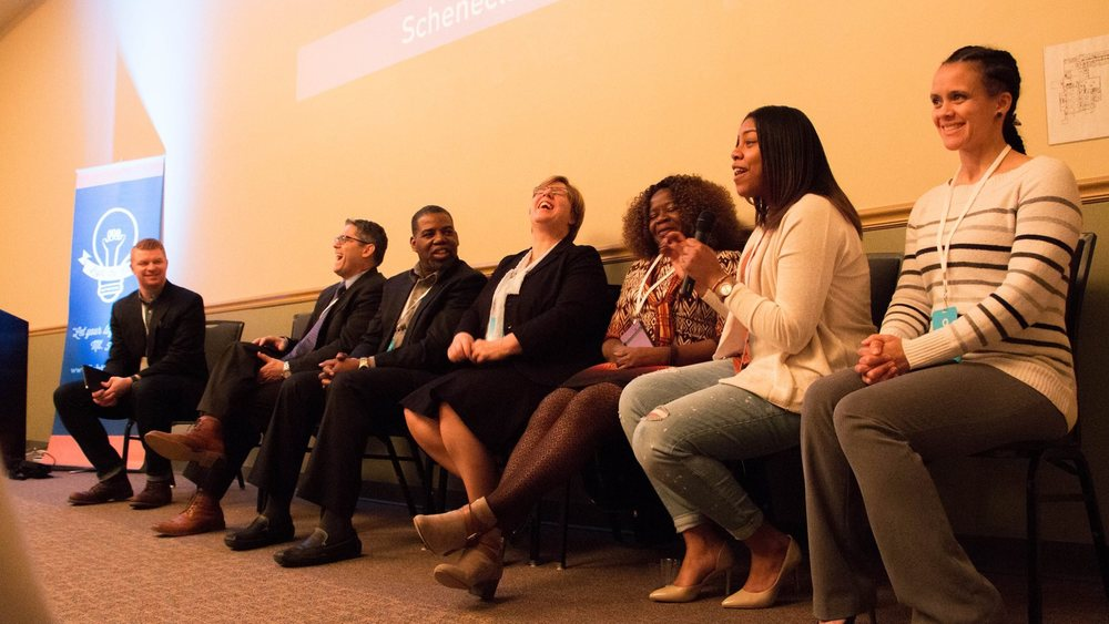 Education Panel Q Commons Schenectady Spring 2016