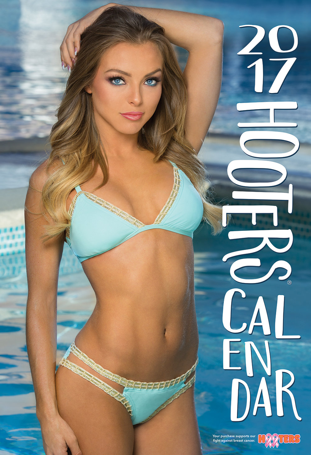 Sable Jade Robbert - 2017 Hooters Calendar Cover