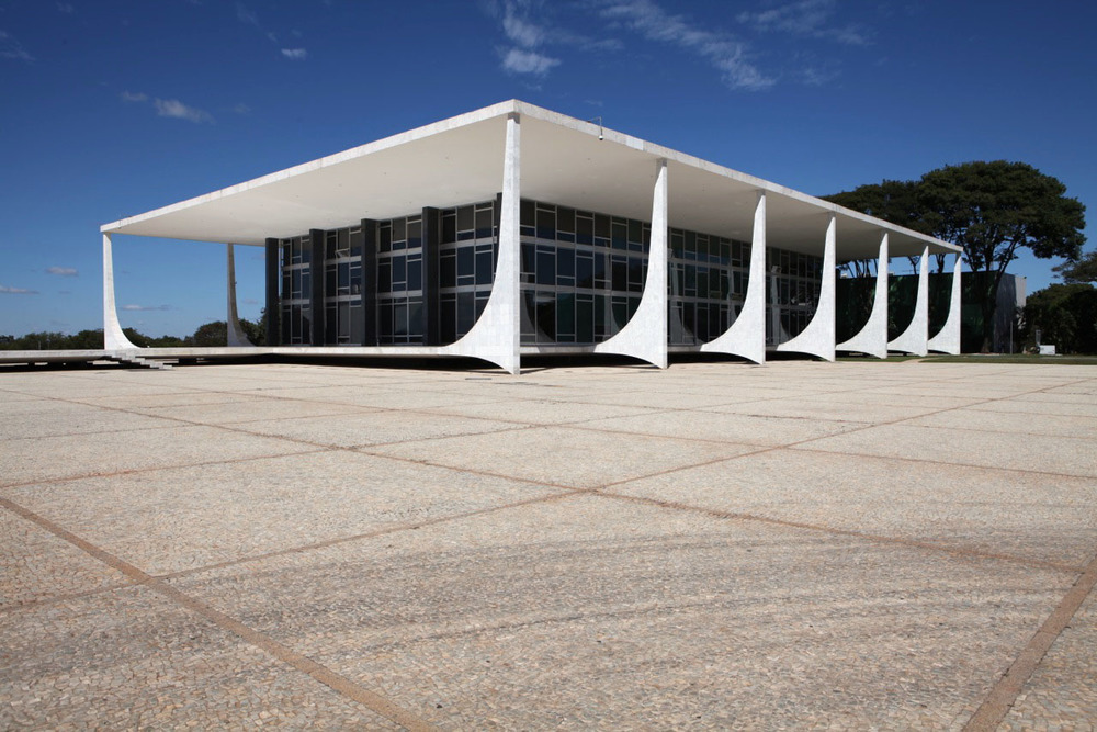 Copy of Supreme Federal Court by Oscar Niemeyer